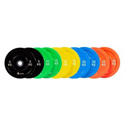 Гумирани дискове Pure Rubber Bumper Plates (Ø 50 мм) Legion от DoTile